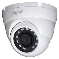 Купольная HDCVI камера Dahua HAC-HDW1220MP-S3 (2.8 мм), 2Мп