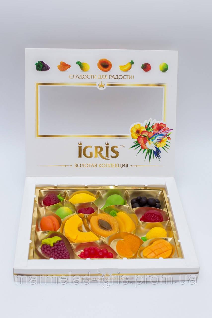 фрукты мармелад  Игрис  вес 330 грамм