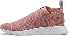 Жіночі кросівки Adidas x Kith x Naked x NMD CS2 Primeknit 'Pink' BY2596, Адідас НМД