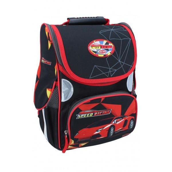 Рюкзак ранец школьный каркасный Racing RAINBOW