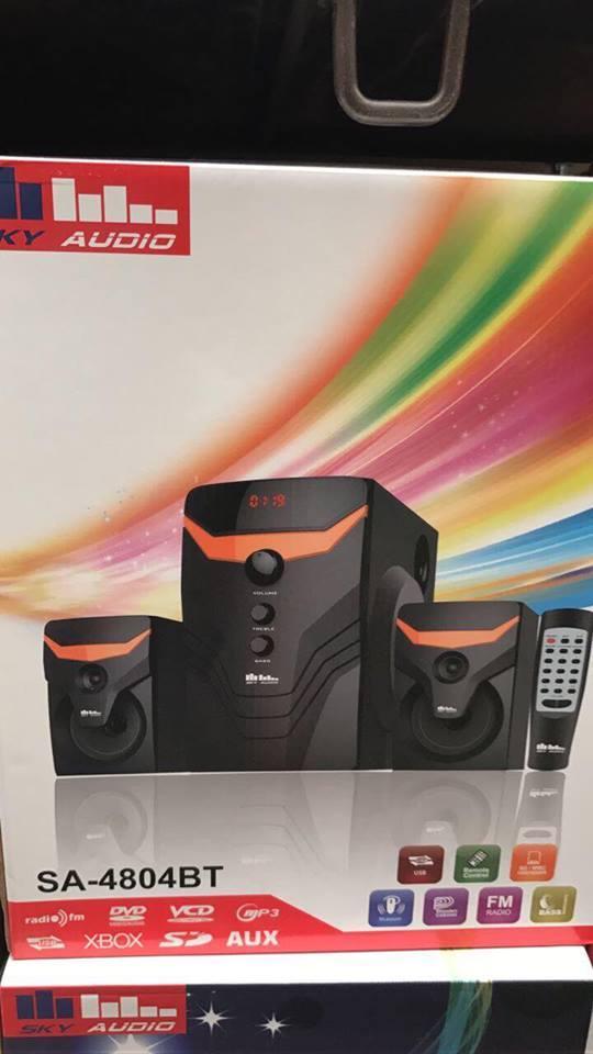 Музыкальный центр Speaker SA-4804 BT