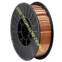 Проволока Св08Г2С-О Ø 1,2 мм (катушка 5 кг)