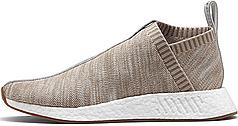 Мужские кроссовки Adidas X Kith X Naked Consortium City Sock NMD C2 PK Tan BY2597, Адидас НМД