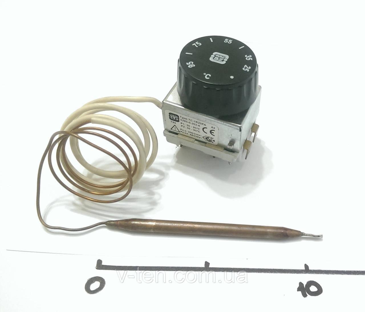 Терморегулятор 30-95°C двухполюсный капиллярный MMG (Венгрия)