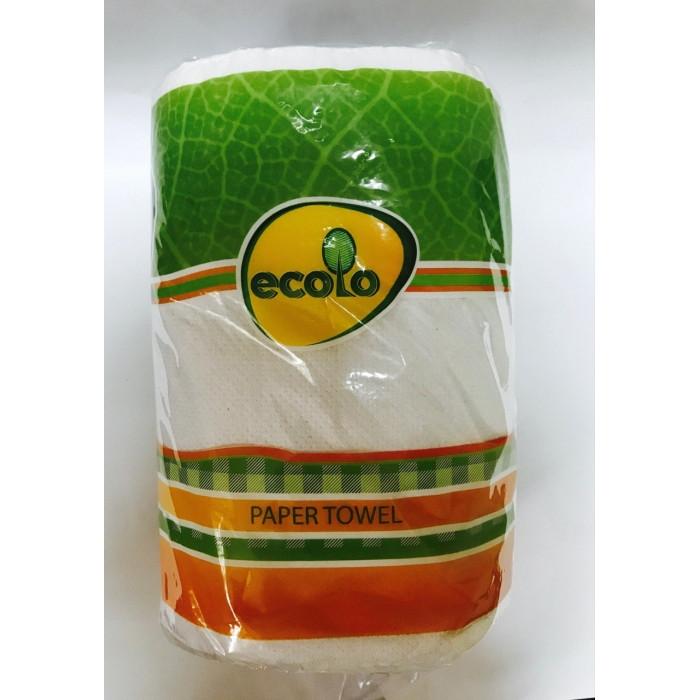 Бумажные полотенца Ecolo, 1 рулон