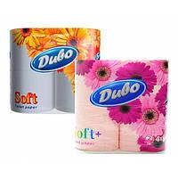 """Туалетная бумага Диво целлюлозная """"Soft"""" двухслойная, 4рул/уп"""