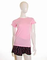 Женская футболка розовая, фото 1