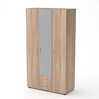 Шкаф-6 дуб сонома Компанит (120х54х218 см), фото 1