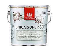 Лак Tikkurila Unica Super Тиккурила Уника Супер полуглянцевый 2,7 л