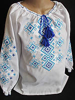 Вышитые блузы для девочек., фото 1