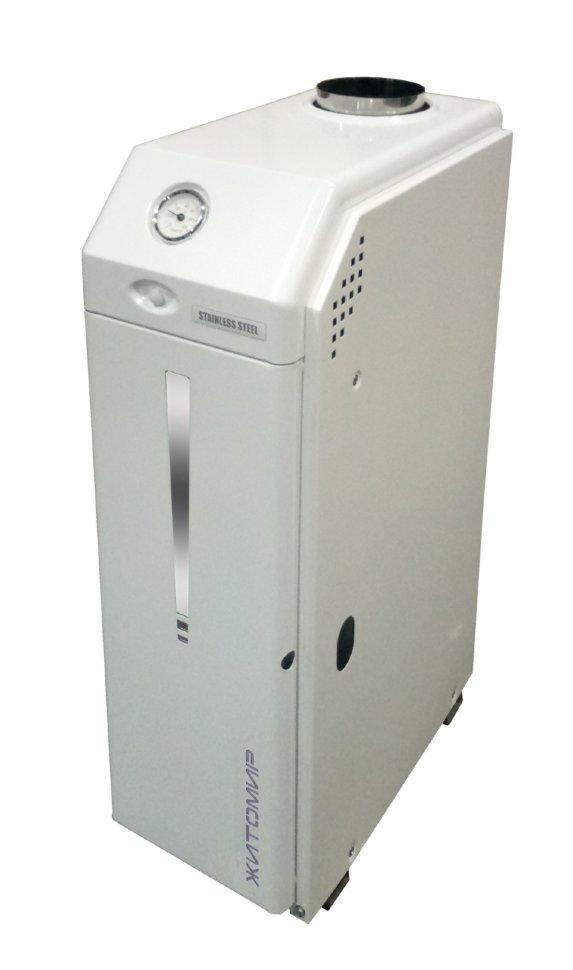 Котел газовый Атем Житомир-3 КС-Г-030 СН-дым (клапан Eurosit 820+ т/о-нерж.сталь