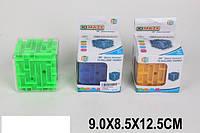 Головоломка-куб 3D-лабиринт, 3 цвета, 9333