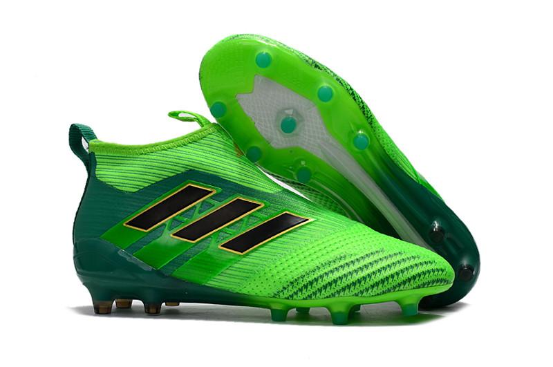 Мужские бутсы Adidas Ace 16+ Purecontrol зеленый
