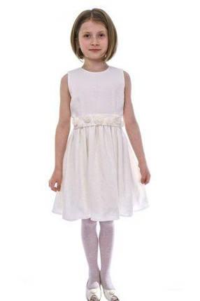 ДАЙС. Плаття нарядне біле 246bded9925a4