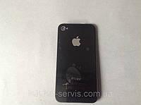 Задняя крышка Apple iPhone 4, чёрная