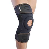 Ортез на коленный сустав черный длинныйOrliman 7120