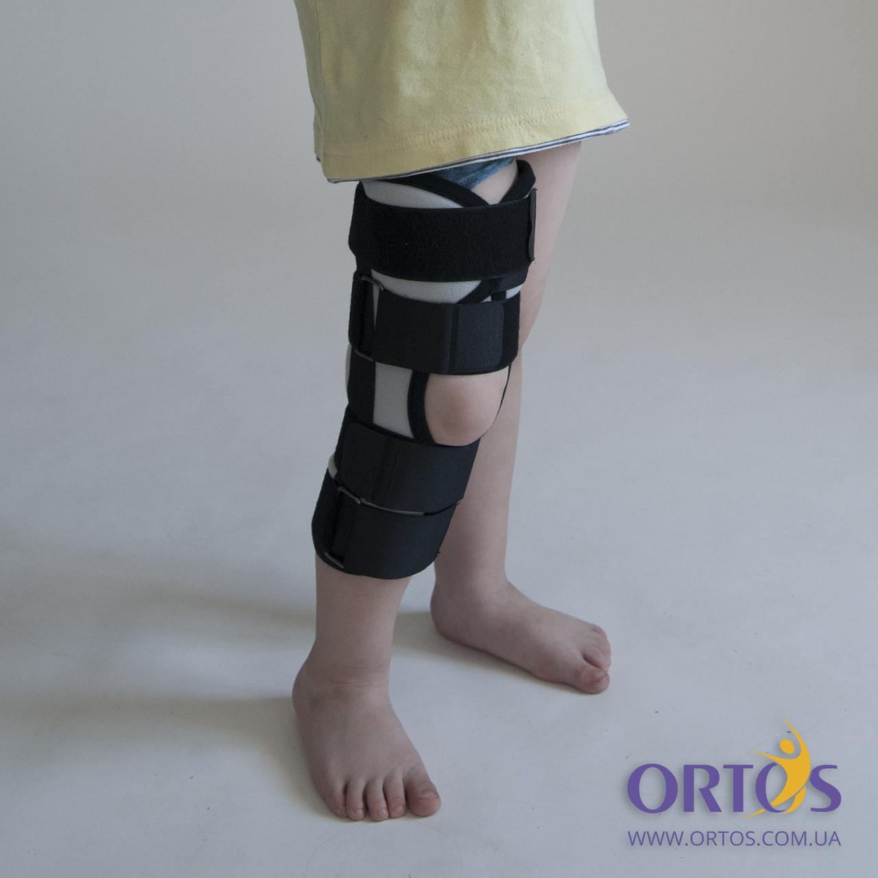 Бандаж (тутор) на коленный сустав Алком 3013 Kids р.1