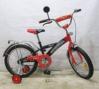 "Детский велосипед EXPLORER 18"" T-21814 black + orange"