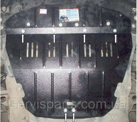 Захист двигуна Fiat Scudo 1995-2007 (Фіат Скудо), фото 2