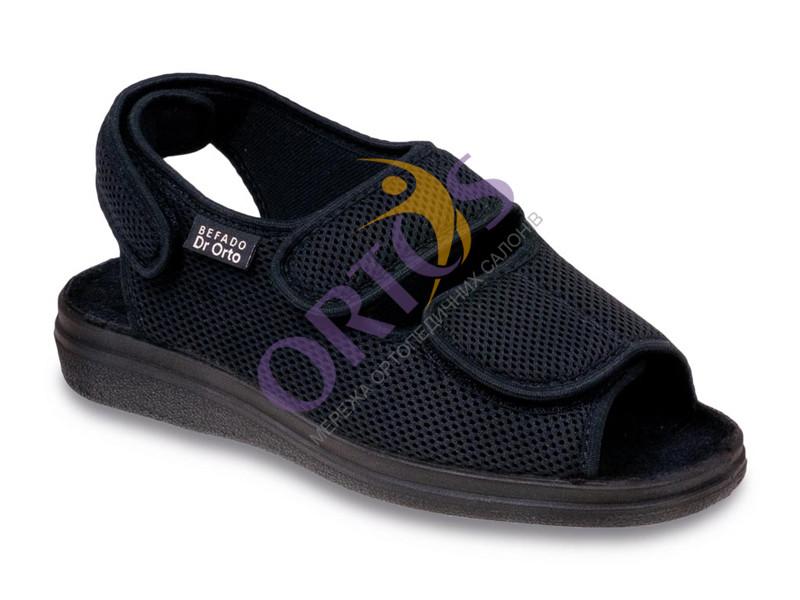 Ортопедические сандалии для диабетической стопы Dr Orto 733 M 007, мужские
