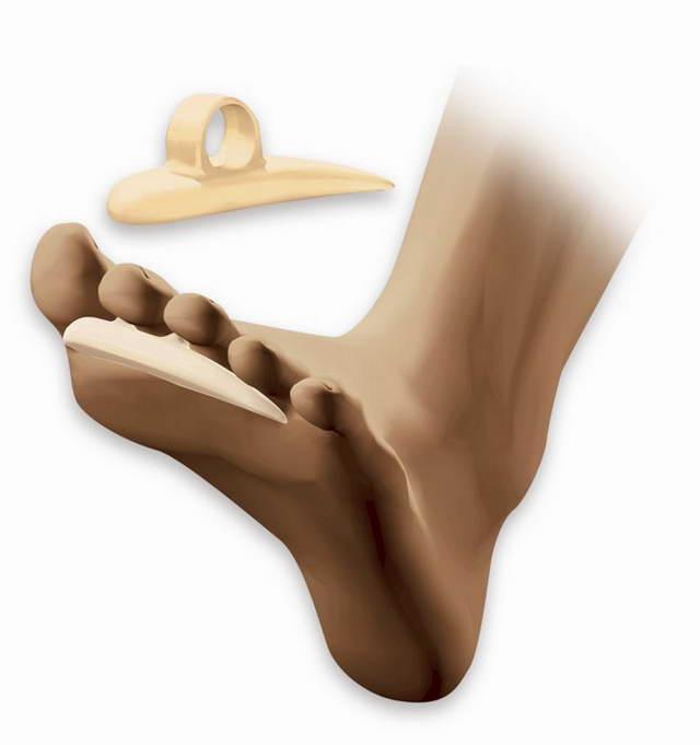 Подушечка под пальцы с укрепленной петлей (на левую/правую ногу) Comforsil CC226