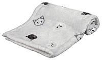 Коврик Trixie Mimi Blanket плюшевый, серый, 70х50 см, фото 1