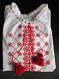 Вышитые сорочки с орнаментом для девочек., фото 6