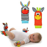 Носки детские с погремушками Sozzy SK-3678