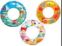 Детский надувной круг Intex 61 см   (59242)