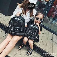Стильный набор рюкзаков мама и дочка