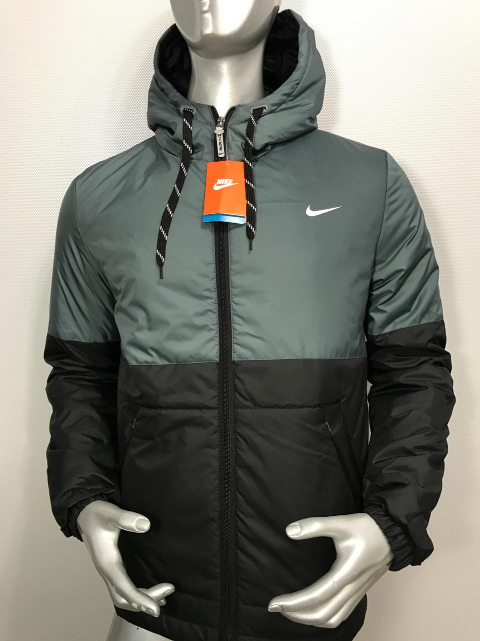 97615f2c Спортивная мужская куртка Nike, мужская ветровка найк осень копия ...