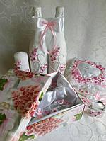 Свадебный набор розовый Новинка