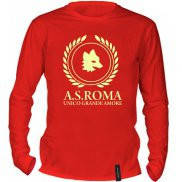 Футболка с длинным рукавом с принтом A.S. Roma UGA