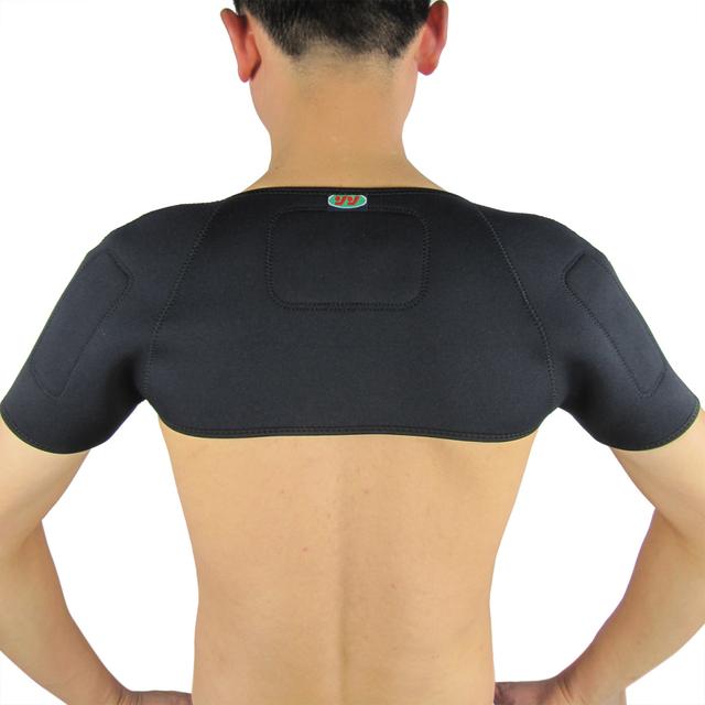 Турмалиновая накладка на плечі