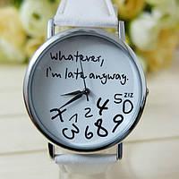 Часы Whatever (white)
