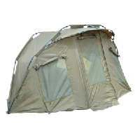 CZ Carp Expedition Bivvy 1, 280x215x135cm (Карповая палатка, 5000мм-водная шкала, вес палатки 9 кг, удобное размещение для 2-х рыбаков, варьируемый