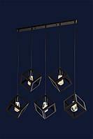 Светильник подвесной LOFT L56PR160F-5 BK(700)