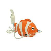 Ингалятор - небулайзер компрессорный Bobo-neb для взрослых и детей в виде рыбки Nemo, Польша