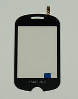 Оригинальный тачскрин / сенсор (сенсорное стекло) для Samsung C3510 (черный цвет)