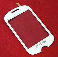 Оригинальный тачскрин / сенсор (сенсорное стекло) для Samsung C3510 (белый цвет)