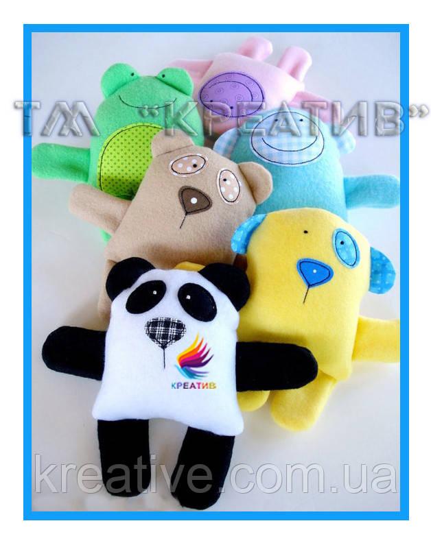 Игрушки корпоративный подарок с вашим логотипом под заказ (от 50 шт.)