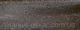гаражные ворота в цвете коричневый орех