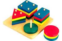 Логический квадрат, Мир деревянных игрушек