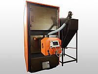 Пеллетный котел Тирас 470 кВт с автоматической загрузкой топлива