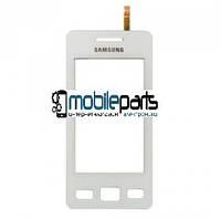 Оригинальный Сенсор (Тачскрин) для Samsung S5260 (Белый)