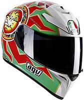 Мотошлем AGV K-3 SV Top Imola красный белый зеленый MS