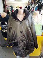 Куртка женская батальная демисезонная ANASTASIA
