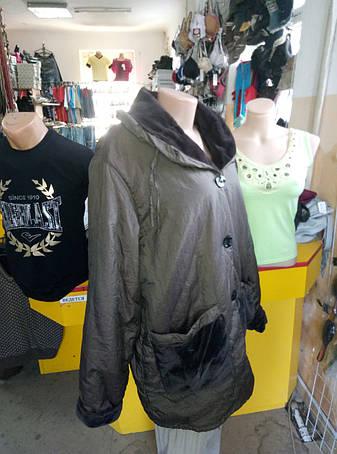 Куртка женская батальная демисезонная ANASTASIA, фото 2