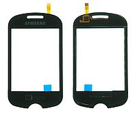Оригинальный тачскрин / сенсор (сенсорное стекло) для Samsung C3510 TV (черный цвет)