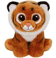 Тигренок Tiggs, мягкая игрушка 15 см, Beanie Babies, TY